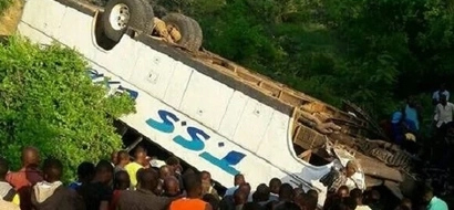 TRAGEDY after 4 perish, 21 injured in accident involving Mombasa bound TSS bus