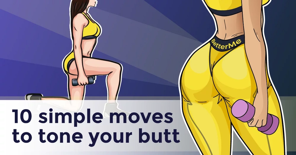 Tone your butt with 10 simple moves