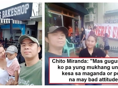 "Neri Naig & Chito Miranda respond to netizen who made fun of ""pleasing personality"" job requirement for their new restaurant"