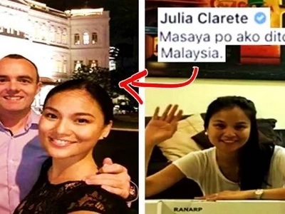 What happened to Julia Clarete after leaving 'Eat Bulaga'? She is now living a simple & quiet life with her handsome Irish boyfriend in Malaysia!