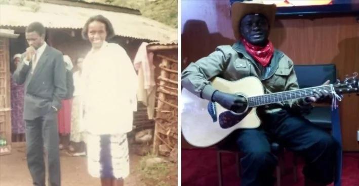 Picha 11 za mwimbaji wa nyimbo za injili Reuben Kigame na mpenzi wake wa maisha