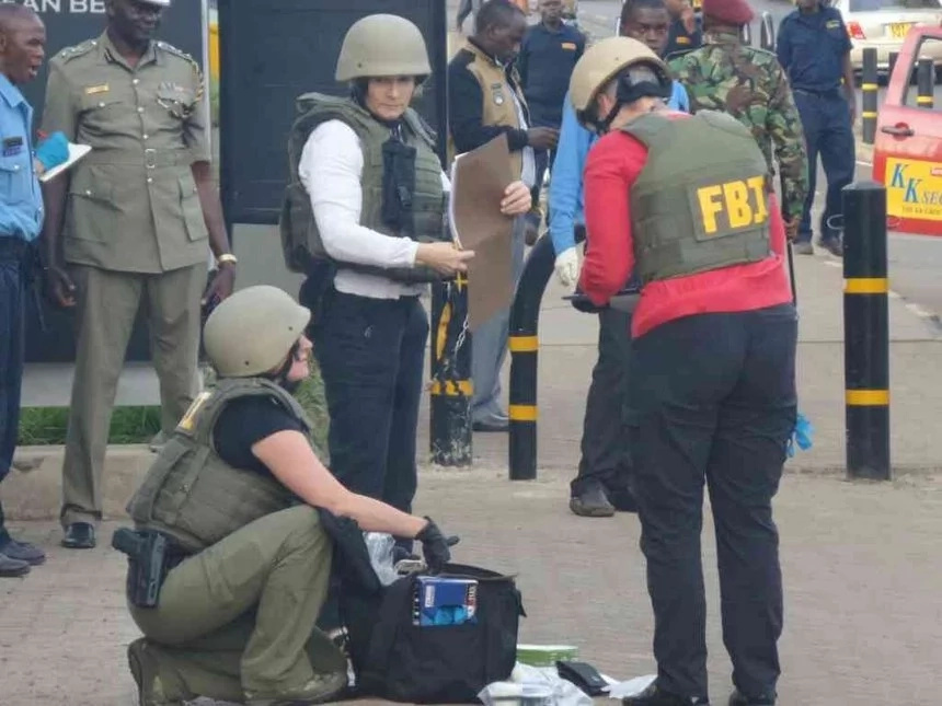 This is the shocking video during the US embassy attack in Nairobi
