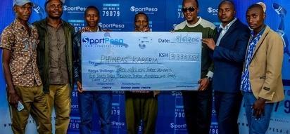 Mkenya mwenye bahati ashinda KSh 230 milioni za Sportpesa Jackpot