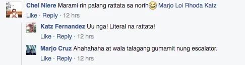 Netizen takes video of a rat climbing up at mall escalator