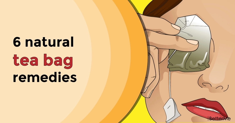 6 natural tea bag remedies