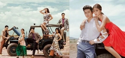 JaDine and friends live up to the title of 'squad goals' with their epic Mega mag feature