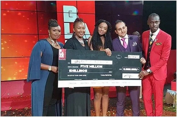 Beautiful young lady who bagged KSh 5 million has a surprise connection to Francis Atwoli