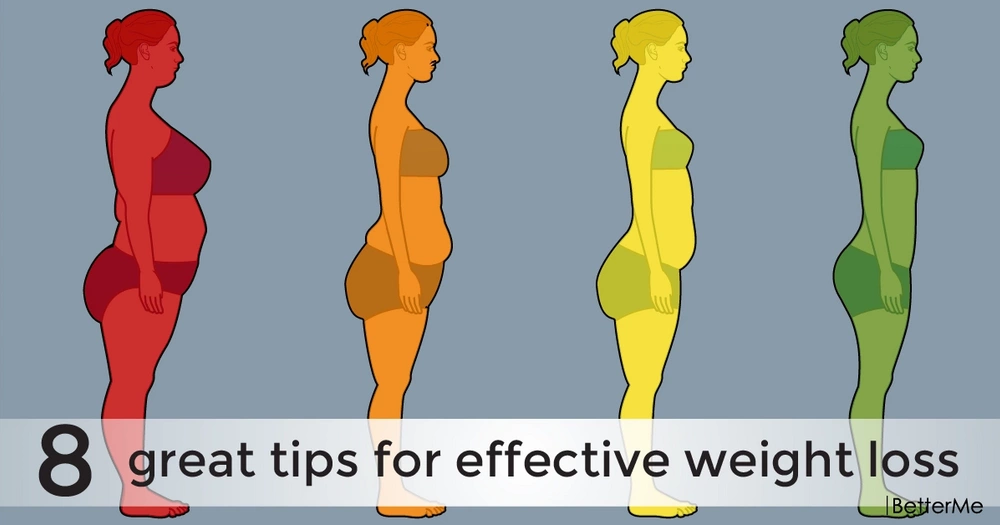 8 great tips for effective weight loss