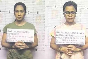 Beauty queen naging drug queen! Former Binibining Pilipinas contestant and lesbian GF arrested in shocking drug bust