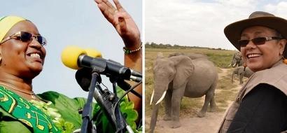 Margaret Kenyatta and Janete Magufuli FACE-OFF in these 12 photos