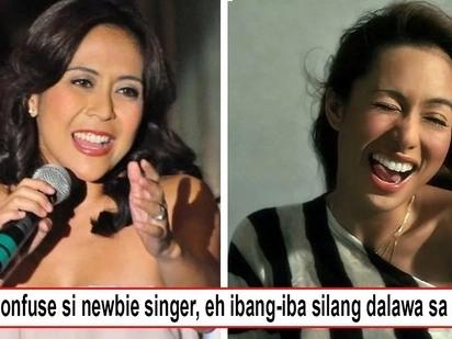 Ay mali! Newbie singer laments erroneously calling Rachel Alejandro as 'Rachel Lobangco,' 'Di pa nagsisimula career ko, tapos na?!'