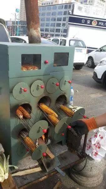 """""""Chinese"""" invent sophisticated mahindi choma machine"""