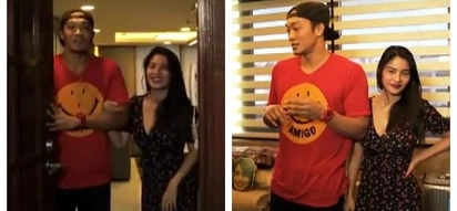 Pinagpagurang tahanan! Jayjay Helterbrand gives a tour of his awesome 3-bedroom condominium unit with his girlfriend RR Enriquez