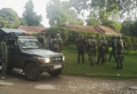 Kapenguria gunman arrested after eight hour siege