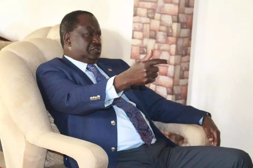 My good health is bad news for Uhuru and Ruto - Raila