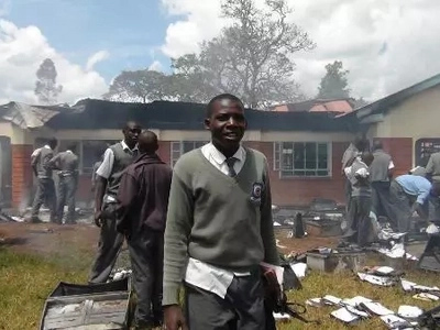 Keringet students totally burn 6 million dormitory after failing 5 times before