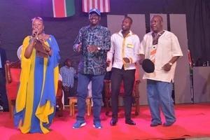 Raila Odinga gets down in Nyamira, you won't believe he is 70 years