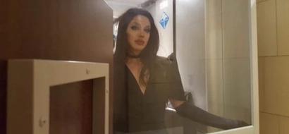 Pak na pak! Paolo Ballesteros dumating bilang Angelina Jolie sa TIFF