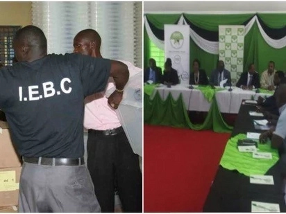 Training of IEBC staff disrupted by rowdy youth on Raila's backyard