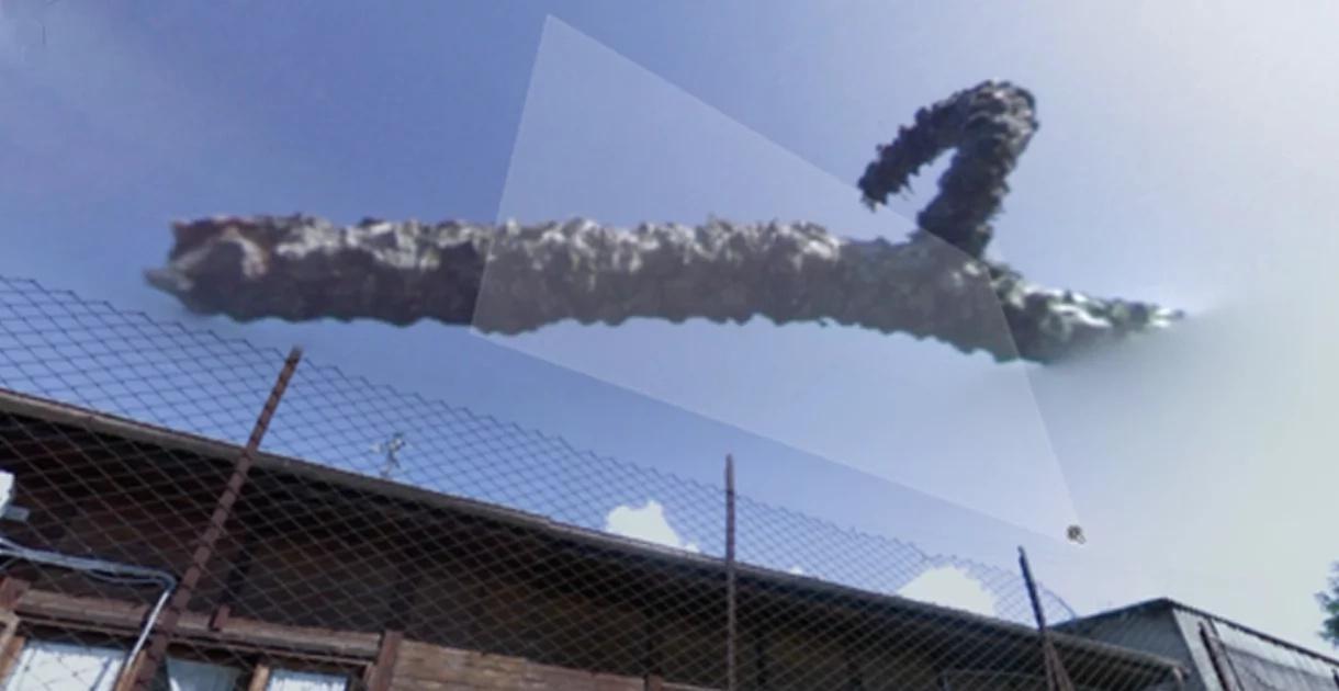 Una extraña imagen fue captada por Google en el cielo. ¿Por qué dicen que es una preocupante señal profética?