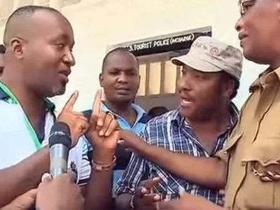 Video: Governor Joho clashes with Kabete MP Waititu in Malindi by-election