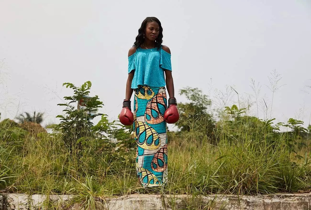 Meet the female boxers of Congo who want to punch their way to global fame