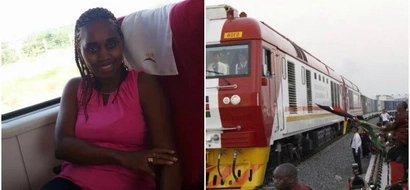 The SGR hailed after Kenyan woman broke the internet with her HUMOROUS narration of her maiden trip