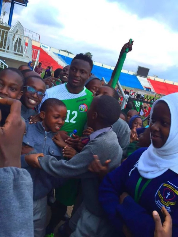 We celebrate Victor Wanyama's birthday with his best smiles