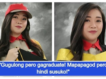 Talagang nakaka-proud si ate! Inspiring story of a fast food service crew about her struggles as a working student in order to finish her studies