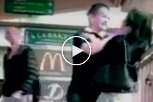Furious foreigner in Hong Kong brutally assaults scared Filipina for not paying debt