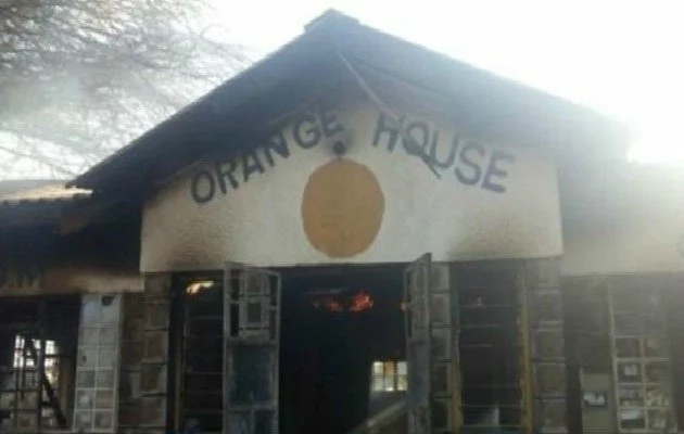 ODM accuses Jubilee Party of burning down its offices