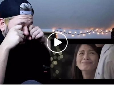 Foreigners get teary-eyed after watching Jollibee Valentine's series ad