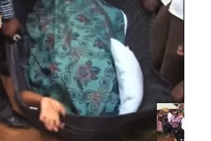 Drama in Kisii as man and woman get stuck while having illicit sex (photos, video)