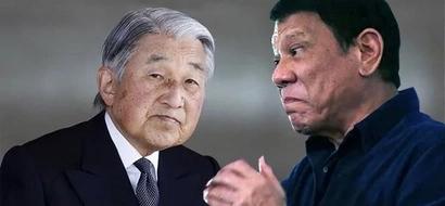Sana mag-behave siya! Mga opisyal ng Japan balisa na ngunguya ng chewing gum si Duterte habang kaharap si Emperador Akihito