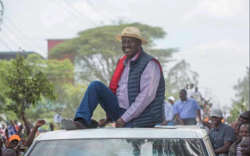 Raila alirejea na ghasia zake za kawaida – Naibu wa rais Ruto