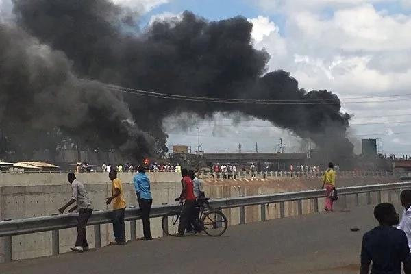 3 shot by police at Jacaranda grounds ahead of NASA rally