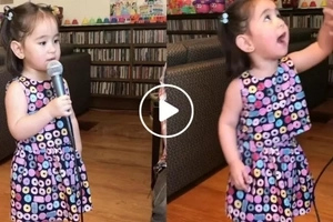 Scarlet Snow's version of 'It's A Small World After All' is the cutest so far