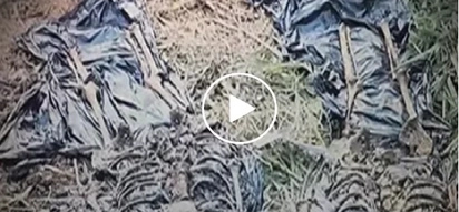 Ang daming nahukay na buto! Watch how these investigators recover bones of killed assets by drug syndicates
