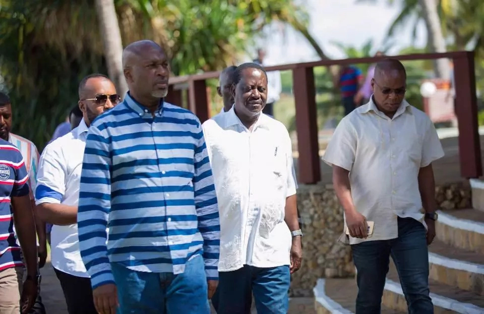 Raila Odinga attacks Uhuru Kenyatta again while in Kilifi