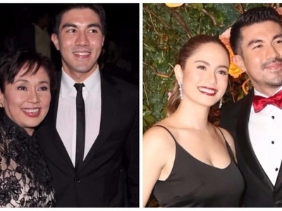 Hayaan daw sila! Vilma Santos defends son Luis Manzano and girlfriend Jessy Mendiola from bashers