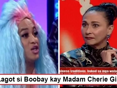 Lumabas tuloy ang pagiging dakilang kontrabida! Cherie Gil reacts to Boobay when he mispronounced actress' name on TV