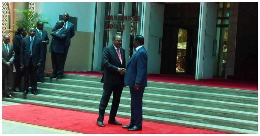 Wabunge kutoka Nyanza wapongeza 'salamu' kati ya Uhuru na Raila