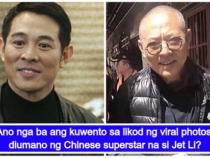 Ang buong katotohanan sa likod ng viral photos diumano ni Jet Li na nagpabahala sa fans niya sa buong mundo