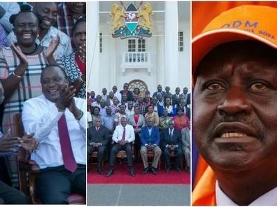 Uhuru Kenyatta deals Raila a BLOW at the heart of his stronghold