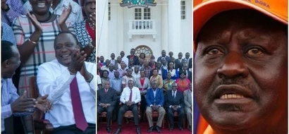 Uhuru Kenyatta deals Raila a BLOW at the heart of his stronghold