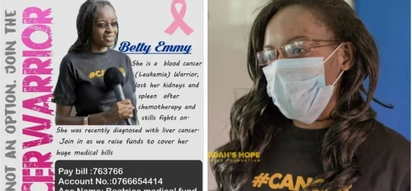 Cancer warrior goes into hiding after being cursed severally by Kenyans
