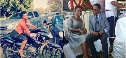 Ababu Namwamba's hot wife squashes rumors that all is not well in their marriage with a romantic social media post