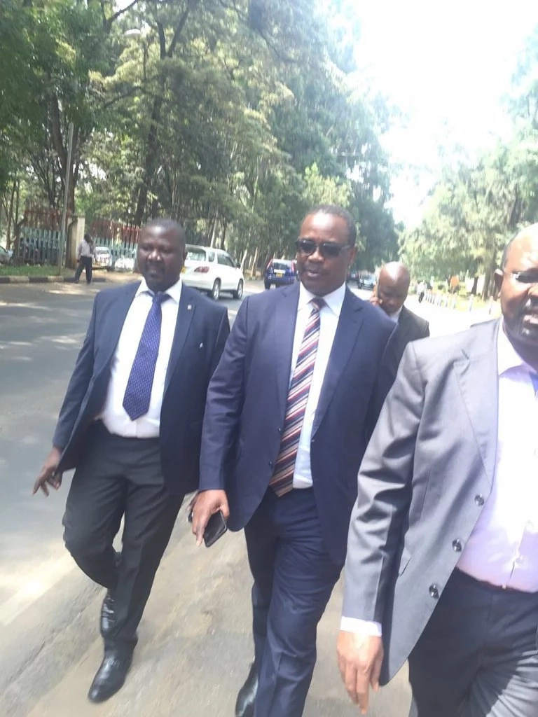 Israel PM Netanyahu makes Kidero walk 5km