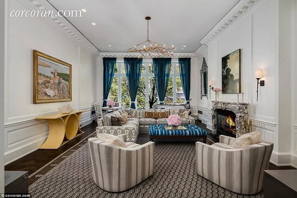 It has lavish interiors. Photo: corcoran.com