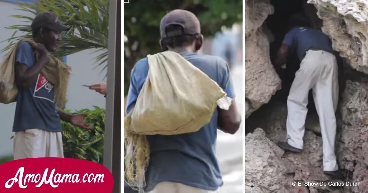 Le dio dinero a este mendigo, pero se llevó la peor decepción de su vida